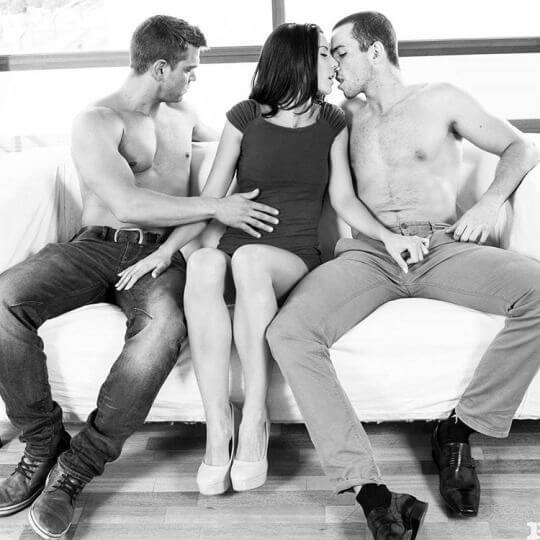 You warm her up while he gets the main course 1